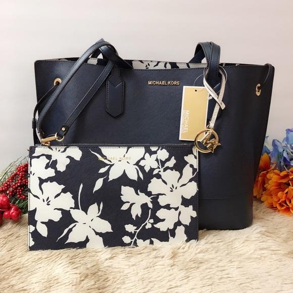 a55e1ad8015ace Michael Kors Bags   Nwt Trista Leather Drawstring Tote   Poshmark